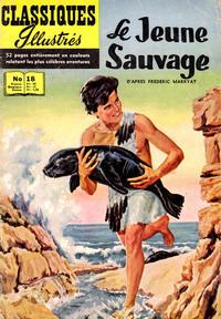 Cover Thumbnail for Classiques Illustrés (Publications Classiques Internationales, 1957 series) #18 - Le jeune sauvage