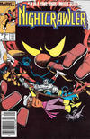 Cover for Nightcrawler (Marvel, 1985 series) #3 [Newsstand]