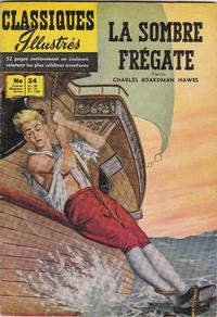 Cover Thumbnail for Classiques Illustrés (Publications Classiques Internationales, 1957 series) #24 - La sombre frégate