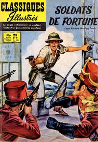 Cover Thumbnail for Classiques Illustrés (Publications Classiques Internationales, 1957 series) #25 - Soldats de fortune
