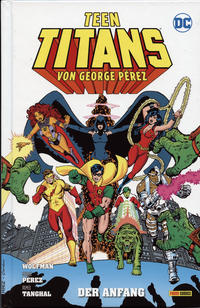 Cover Thumbnail for Teen Titans von George Pérez (Panini Deutschland, 2020 series) #1 - Der Anfang