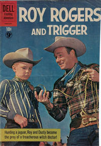 Cover Thumbnail for Roy Rogers and Trigger (Dell, 1955 series) #141 [British]