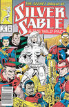 Cover Thumbnail for Silver Sable and the Wild Pack (1992 series) #9 [Newsstand]