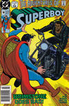 Cover for Superboy (DC, 1990 series) #14 [Newsstand]