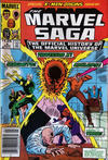 Cover for The Marvel Saga the Official History of the Marvel Universe (Marvel, 1985 series) #4 [Canadian]