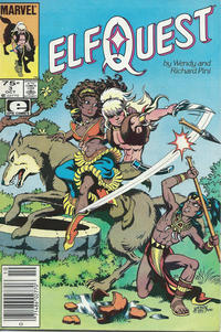 Cover Thumbnail for ElfQuest (Marvel, 1985 series) #3 [Newsstand]