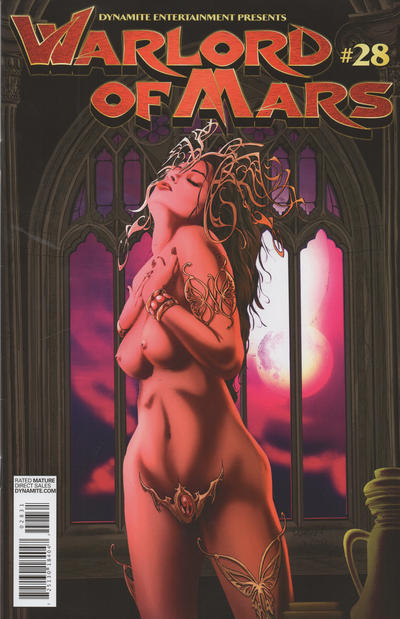 Cover for Warlord of Mars (Dynamite Entertainment, 2010 series) #30 [Cover A - Joe Jusko Cover]