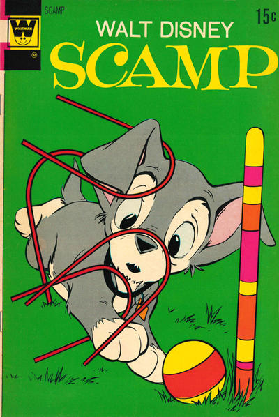 Cover for Walt Disney Scamp (Western, 1967 series) #9 [Gold Key]