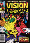 Cover Thumbnail for The Vision and the Scarlet Witch (1985 series) #1 [Canadian]