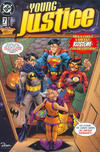 Cover for JLA - Die neue Gerechtigkeitsliga Special (Dino Verlag, 1998 series) #7 - JLA Special Young Justice [Future Variant Cover-Edition]