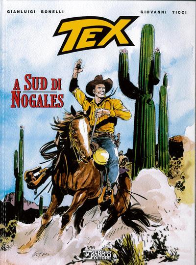 Cover for Tex Romanzi a fumetti (Sergio Bonelli Editore, 2015 series) #10 - A sud di Nogales