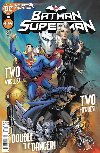 Cover for Batman / Superman (DC, 2019 series) #16 [Greg Smallwood Variant Cover]