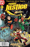 Cover for Young Justice (DC, 1998 series) #1 [Newsstand]