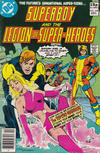 Cover for Superboy & the Legion of Super-Heroes (DC, 1977 series) #258 [British]