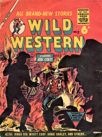 Cover Thumbnail for Wild Western (L. Miller & Son, 1955 series) #3