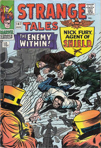 Cover Thumbnail for Strange Tales (Marvel, 1951 series) #147 [British]