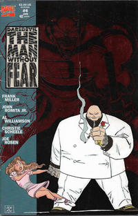 Cover for Daredevil The Man without Fear (Marvel, 1993 series) #4 [Direct Edition]