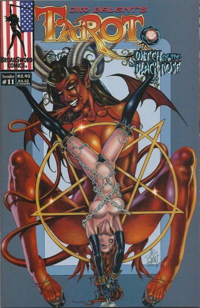 Cover for Tarot: Witch of the Black Rose (Broadsword, 2000 series) #11 [Cover A - Jim Balent]