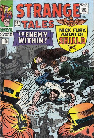 Cover for Strange Tales (Marvel, 1951 series) #147