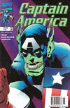 Cover for Captain America (Marvel, 1998 series) #6 [Newsstand]