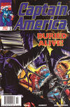 Cover for Captain America (Marvel, 1998 series) #10 [Newsstand]