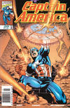 Cover for Captain America (Marvel, 1998 series) #13 [Newsstand]