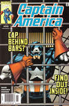 Cover for Captain America (Marvel, 1998 series) #23 [Newsstand]