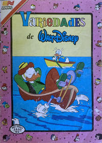 Cover Thumbnail for Variedades de Walt Disney (Editorial Novaro, 1967 series) #486