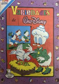 Cover Thumbnail for Variedades de Walt Disney (Editorial Novaro, 1967 series) #538