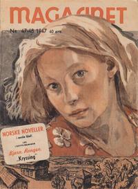 Cover for Magasinet (Oddvar Larsen; Odvar Lamer, 1946 ? series) #47-48/1947