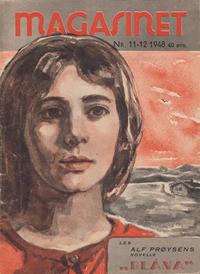 Cover Thumbnail for Magasinet (Oddvar Larsen; Odvar Lamer, 1946 ? series) #11-12/1948