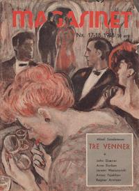 Cover Thumbnail for Magasinet (Oddvar Larsen; Odvar Lamer, 1946 ? series) #17-18/1948