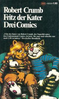 Cover Thumbnail for Fritz der Kater (Zweitausendeins, 1979 series)