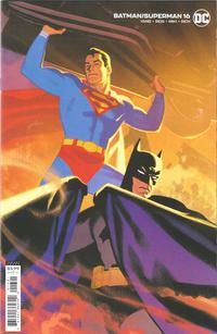 Cover Thumbnail for Batman / Superman (DC, 2019 series) #16 [Greg Smallwood Variant Cover]