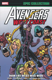 Cover Thumbnail for Avengers West Coast Epic Collection (Marvel, 2018 series) #1 - How the West Was Won