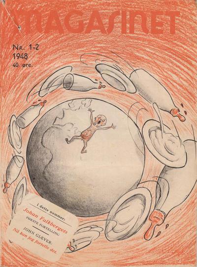 Cover for Magasinet (Oddvar Larsen; Odvar Lamer, 1946 ? series) #1-2/1948