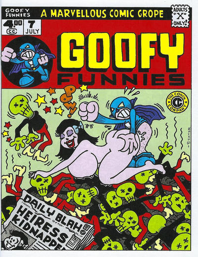 Cover for Goofy Funnies (The Comix Company, 2008 series) #7