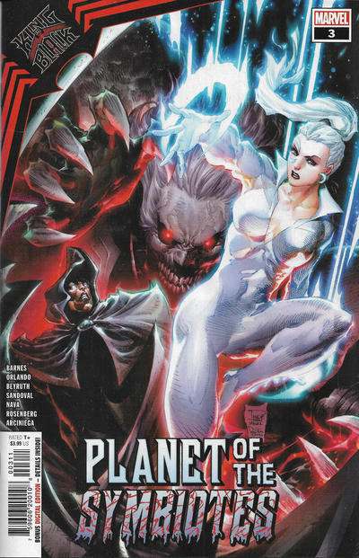 Cover for King in Black: Planet of the Symbiotes (Marvel, 2021 series) #3