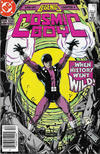 Cover for Cosmic Boy (DC, 1986 series) #1 [Newsstand]