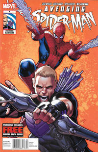 Cover Thumbnail for Avenging Spider-Man (Marvel, 2012 series) #4 [Newsstand]