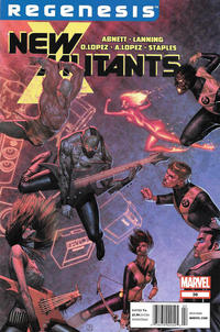 Cover Thumbnail for New Mutants (Marvel, 2009 series) #36 [Newsstand]