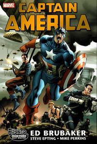 Cover Thumbnail for Captain America by Ed Brubaker Omnibus (Marvel, 2007 series) #1