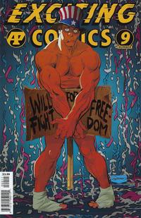 Cover Thumbnail for Exciting Comics (Antarctic Press, 2019 series) #9 (78)