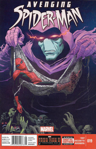 Cover for Avenging Spider-Man (Marvel, 2012 series) #19 [Newsstand]