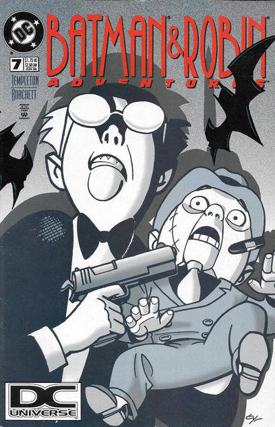 Cover for The Batman and Robin Adventures (DC, 1995 series) #7 [Direct Sales]