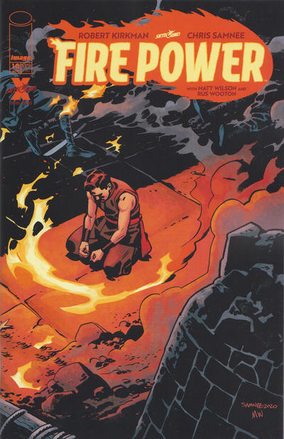 Cover for Fire Power (Image, 2020 series) #10