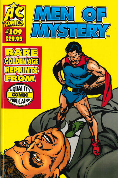 Cover for Men of Mystery Comics (AC, 1999 series) #109