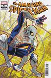 Cover Thumbnail for Amazing Spider-Man (2018 series) #62 (863) [Design Variant - Dustin Weaver Cover]