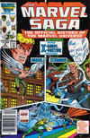 Cover for The Marvel Saga the Official History of the Marvel Universe (Marvel, 1985 series) #5 [Canadian]