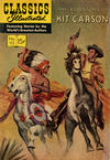Cover for Classics Illustrated (Gilberton, 1947 series) #112 [HRN 167] - The Adventures of Kit Carson
